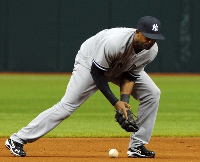 "How many ""E's"" in Eduardo Nunez? About 50 pro-rated over the course of a season. (Photo: Getty Images)"