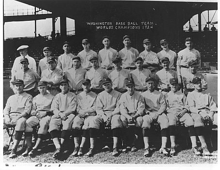 The 1924 Senators outlasted the world champion Yankees over a season long pennant race.