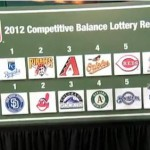 MLB's first ever Competitive Balance Lottery was held on July 17, 2012. (Photo: MLB.com)
