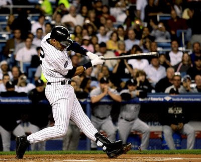 Derek Jeter isn't shy about swinging at the first pitch. (Photo: AP)