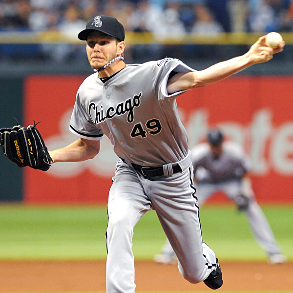 The White Sox and Chris Sale haven't always agreed on the best way to use his valuable left arm. (Photo: Getty Images).