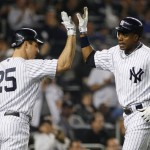 Curtis Granderson and Mark Teixeira are the only two Yankees who have performed well above average against both left handers and right handers. (Photo: Getty Images)