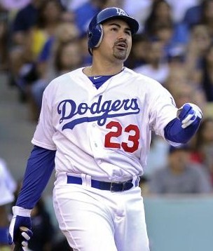 With a home run in his first at bat, Gonzalez paid immediate dividends for the Dodgers. (Photo: AP)