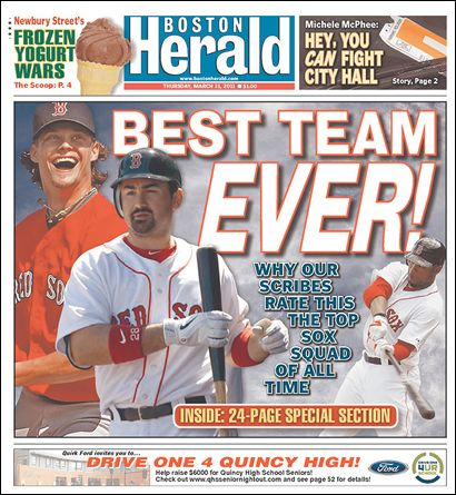 Time have changed in Boston since the optimism surrounding the acquisitions of Gonzalez and Crawford.