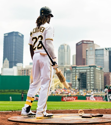 Much of the baseball world has joined Pittsburgh in getting behind Andrew McCutchen's pursuit of the batting crown. (Photo: ESPN, John Loomis)