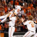 The Orioles have been flying high of late thanks to a spate of recent walk offs.