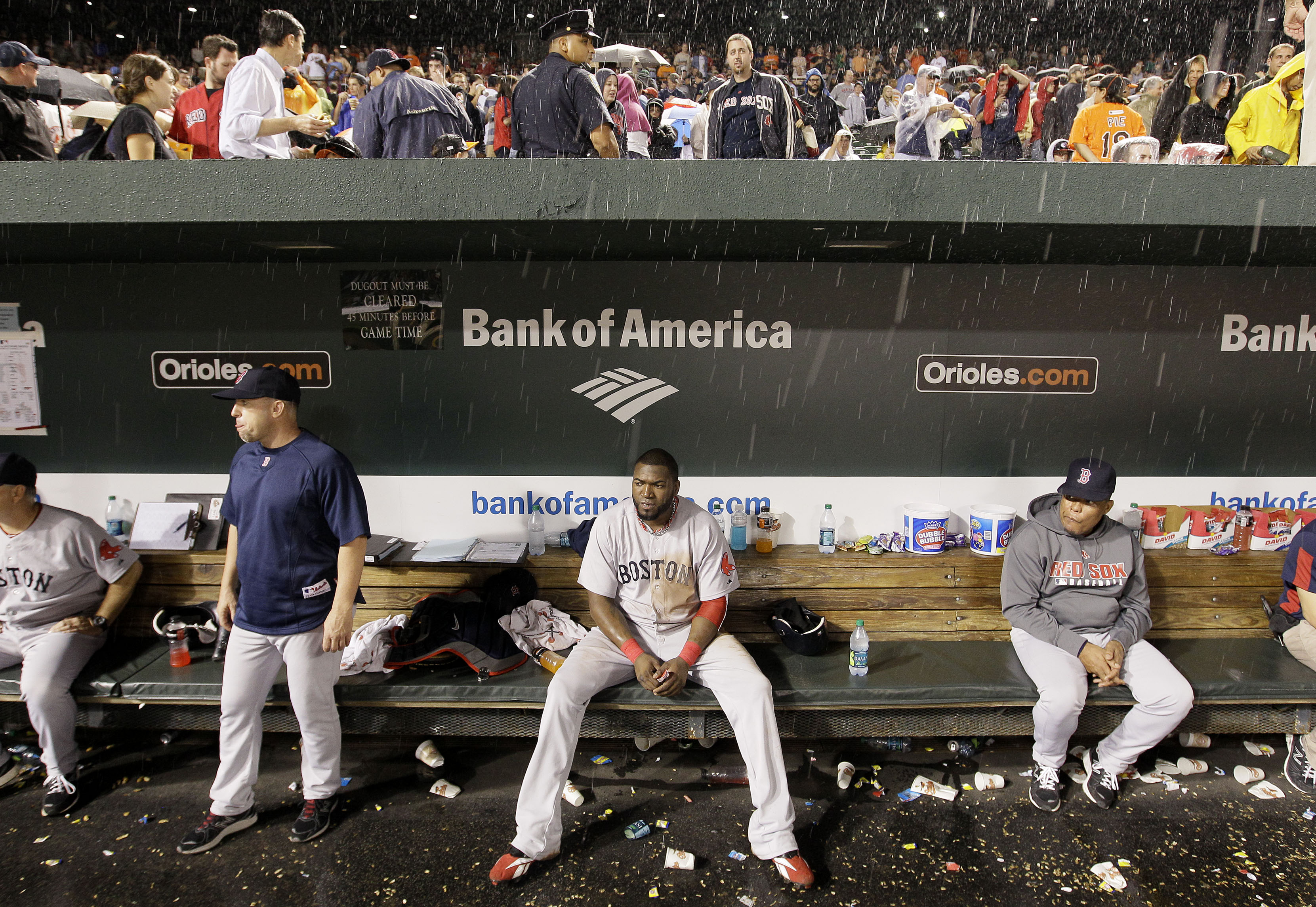 The Red Sox still haven't recovered from their collapse at the end of the last season. (Photo: Boston Globe)