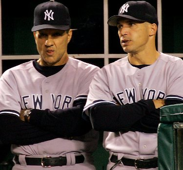 Girardi had to face many challenges in his first season as Yankees' manager, including the specter of Joe Torre.