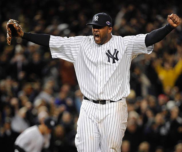 CC Sabathia put the Yankees on his broad shoulders in the ALDS. (Photo: NY Daily News)