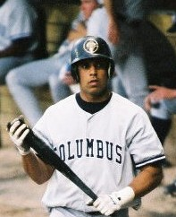 A decade before rejoining the team, Juan Rivera was a highly regarded prospect.