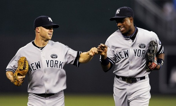 Is the Yankees outfield in need of a realignment?