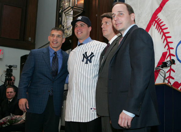 The last time the Yankees reversed course on finances, they wound up signing Mark Teixeira.