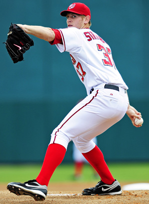 They'll be no strings attached to Stephen Strasburg's golden right arm this year.