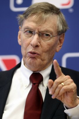 Bud Selig wants you, or anyone linked to Biogenesis. (Photo: AP)